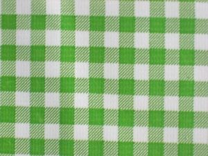 Attractive Image Is Loading LIME GREEN KIWI GINGHAM CHECK KITCHEN PATIO DINE