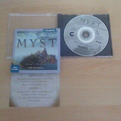 Myst pc adventure game