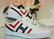 Pema Lace up SNEAKERS White Size 8.5