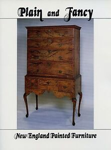 Antique-New-England-Colonial-Painted-Furniture-Scarce-Illustrated-Book