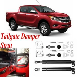 2x-Rear-Tailgate-Oil-Damper-Strut-Slow-Down-Easy-Up-For-Mazda-BT-50-2012-2018