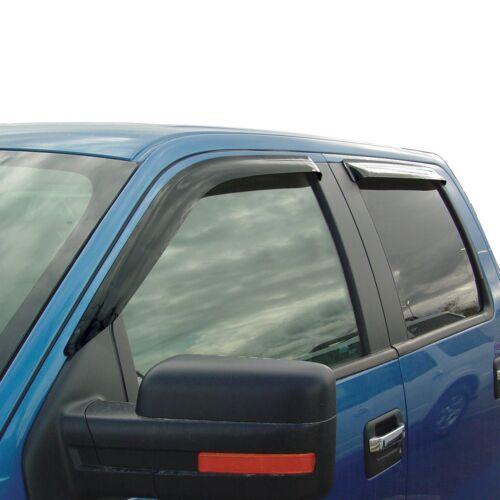 Tape-On Wind Deflectors 2004-2008 Ford F-150 Super Cab