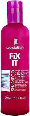 Lee Stafford Fix It Shampoo For Damaged Over Processed Hair 250ml