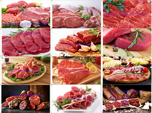 Meat Pork Beef Lamb Chicken Sausages Sausages Hams Meat Products Flag 90x150cm