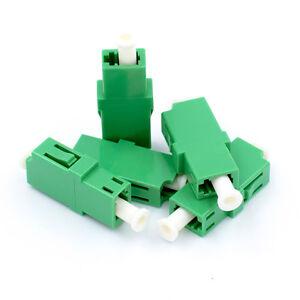 9abee14c8d826 LC to LC Adapter Single Mode APC Simplex 5 Pack Beyondtech Fiber ...