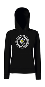 Funny The Edelweiss En Sayings Avec Florale Hoodie Couronne Girlie OZiuXPkT