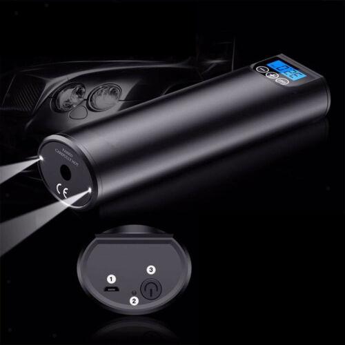 1pc Mini tragbare Luftpumpe Luft elektrische Reifenfüller Auto wiederaufladbar