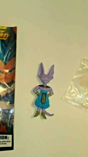 "DRAGON BALL SUPER COLLECTABLE FIGURE /""BEERUS/"" FIGURE BANDAI TOEI"