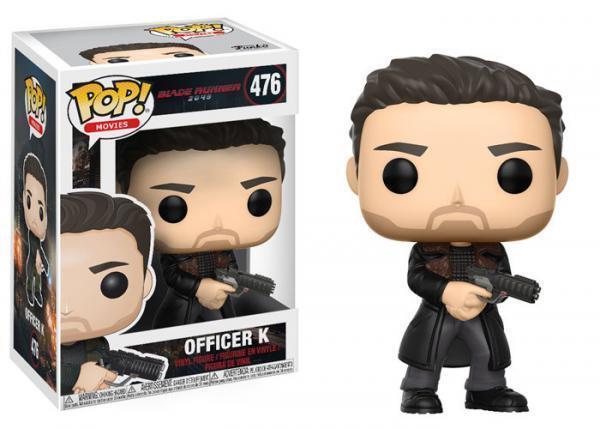 Funko Pop! Movies 476 Blade Runner 2049 Officer K Pop Vinyl Figures FU21554