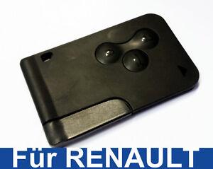 3t schl ssel karte geh use f r renault megane key karte. Black Bedroom Furniture Sets. Home Design Ideas