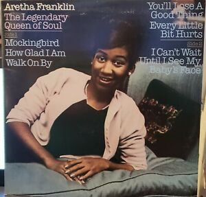Aretha Franklin Legendary Queen Soul 1981 2-LPs Stereo NM/VG+ Columbia C2 37377