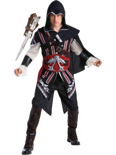 Assassin/'s Creed II Ezio Auditore Assassin Deluxe Men/'s Costume Bundle Large 44