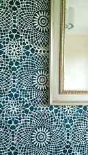 CIRCULAR VINTAGE LACE Decorative Wall Stencil