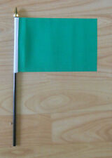 Plain Green Hand Flag - small