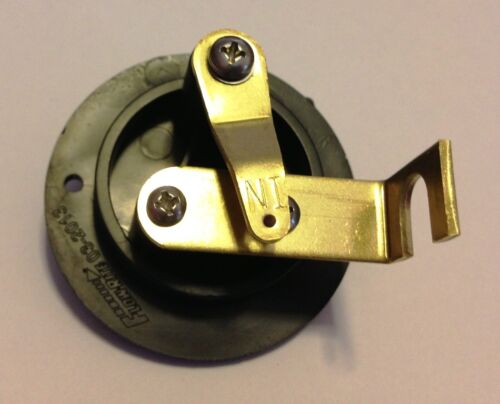 EMPTY//AUTO TYPE FLOW-RITE BRAND LIVEWELL BOAT CONTROL VALVE SILVER LETTERS RK2