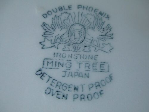 "VTG NIKKO DOUBLE PHOENIX MING TREE 10 1//4/""  DINNER PLATE-DISCONTD PATTERN-JAPAN"
