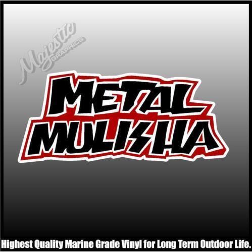 METAL MULISHA 150mm X 65mm DECAL