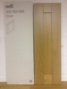 kitchen cabinet door solid oak shaker tall wall 300mm x 900mm