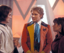 Colin Baker, Paul Darrow & Nicola Bryant UNSIGNED photo - H8045 - Doctor Who