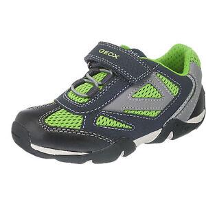 best website 20910 55cac Details zu SALE % Geox Schuhe Kinderschuhe Sneakers 27 28 29 30 31 32 33  NEU schwarz grün