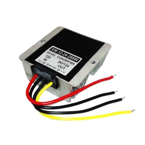 DC Converter Regulator New 12V Step UpTo 24V Voltage Booster Power 288W 12A DC
