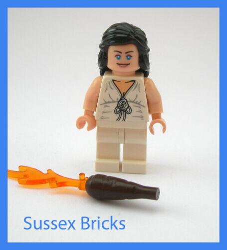 7621 7683 VGC Lego Indiana Jones Marion Ravenwood Minifigure White Outfit