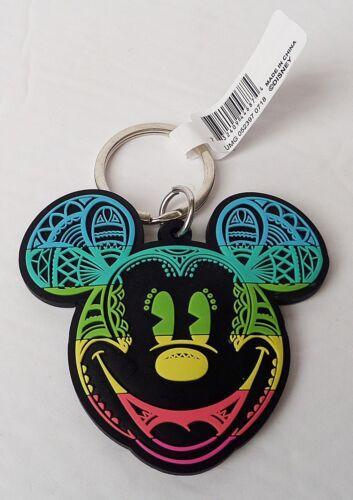 Mickey Mouse Day of the Dead Mickey Head Lasercut Keychain//Keyring Disney