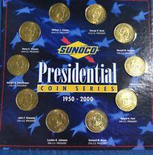 1950-2000 /& MILLENNIUM COIN  SERIES 1999 SUNOCO GAS PRESIDENTIAL COIN SERIES