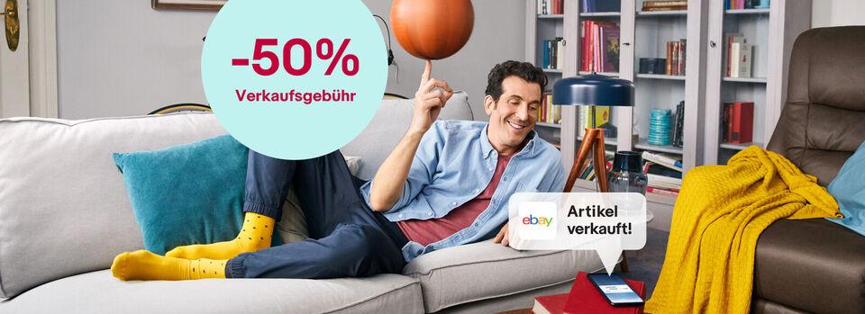 Bis Montag: Verkaufen mit -50% Gebühr – Angebot freischalten - Bis Montag: Verkaufen mit -50% Gebühr*