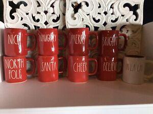 Rae-Dunn-by-Magenta-Christmas-Mugs-YOU-CHOOSE-FREE-SHIPPING