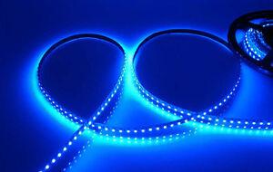 Details About Aquarium Moon Light Waterproof Led Lighting Strip Smd 3528 300 Leds 20 Ft Blue