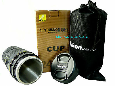Coffee Cup Best Gift For Nikon Fans AF-S NIKKOR 24-70mm Thermos Camera Lens Mug