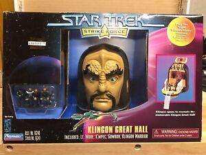 Playmates Star Trek Strike Force Klingon Great Hall New In Box Ebay