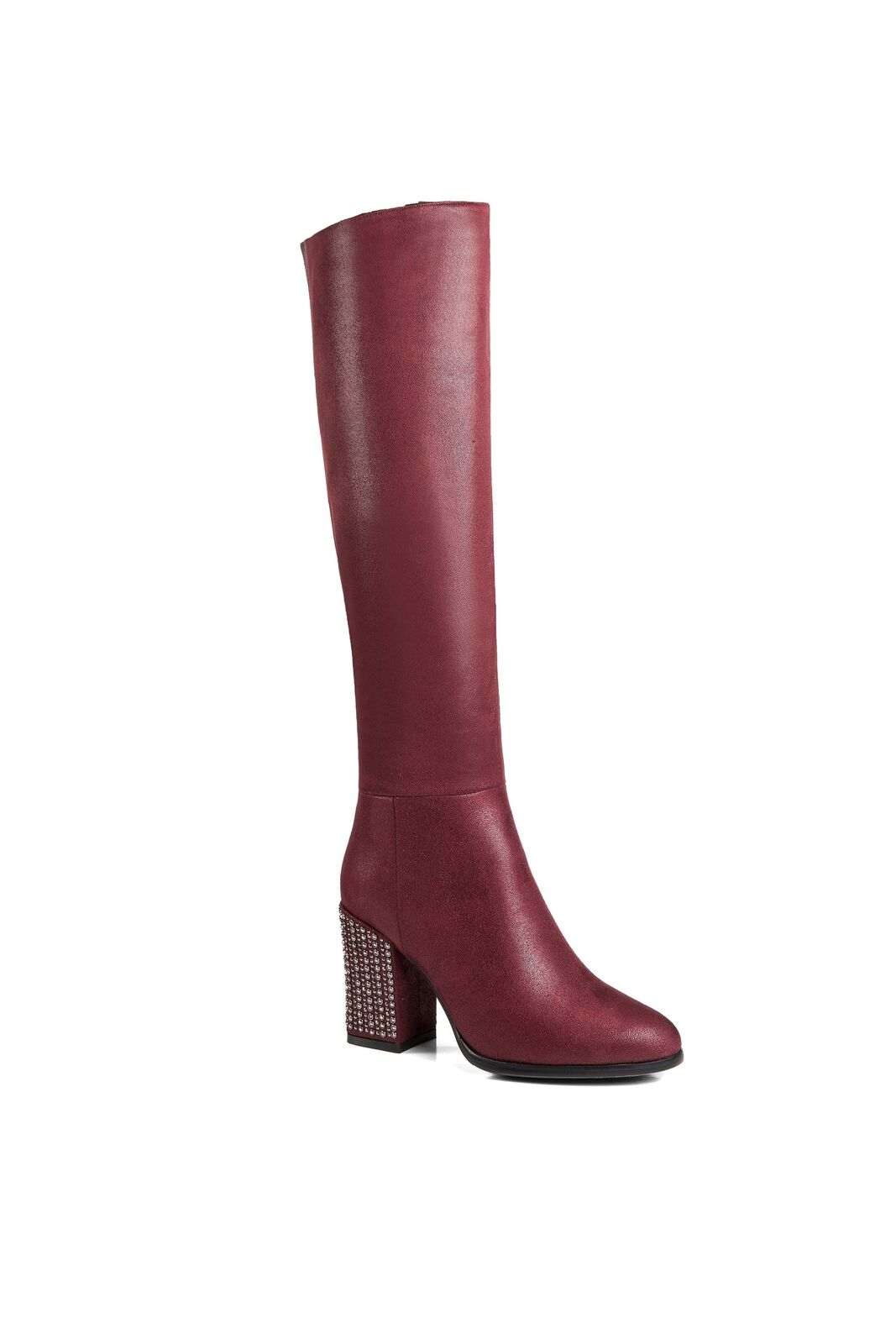 Ann Creek Mujer 'bailey' Metálico Slouch Slouch Slouch Eje y Studded Heel botas  oferta especial