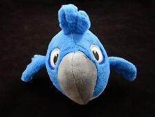 """Angry Birds Rio -  Blue 6"""" Bird Plush Stuffed Animal"""