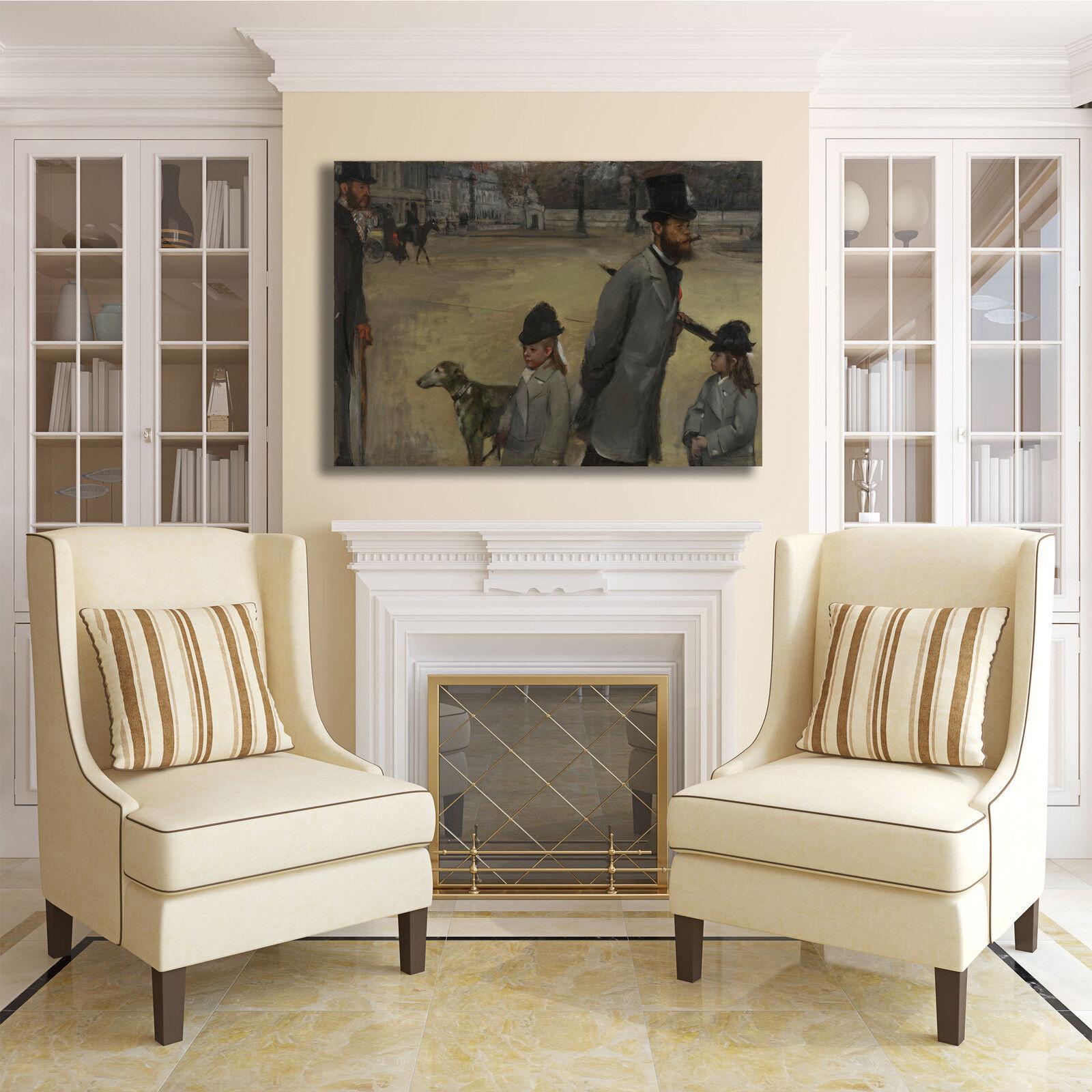 Degas piazza della tela concordia quadro stampa tela della dipinto telaio arRouge o casa a980dc