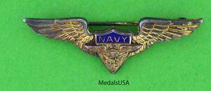 Scarce-WWII-USN-V-5-Aviation-Cadet-Training-Program-Wing-GORDON-MILLER