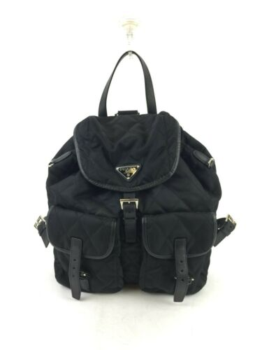 PRADA NYLON QUILTED BACKPACK