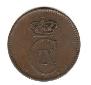 Intelligent Danemark 5 Ore 1874 La RéPutation D'Abord