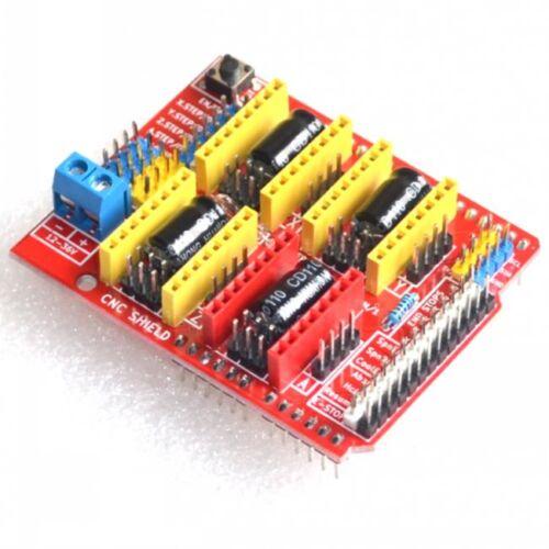 CNC Shield V3 Engraving Machine 3D Printer With 4X A4988 driver for Arduino GRBL