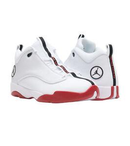ccd5844a86aa36 Men s Nike Jordan Jumpman Pro Quick White Black-Gym Red  932687-101 ...