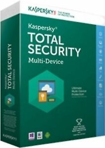 Kaspersky Total Security 2016 Multi device 1 User / 1 Year for PC