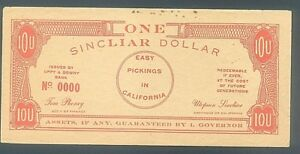 ANTI-COMMUNIST-RED-POLITICAL-ONE-UPTON-SINCLAIR-DOLLAR-with-UPSIDE-DOWN-REVERSE