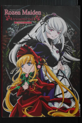 "JAPAN PEACH-PIT Rozen Maiden traumend Anime Fan Book /""Nocturne/"""