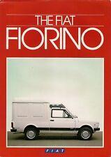 FIAT 127 FIORINO VAN 1984-85 mercato britannico FOLDOUT BROCHURE DI VENDITA