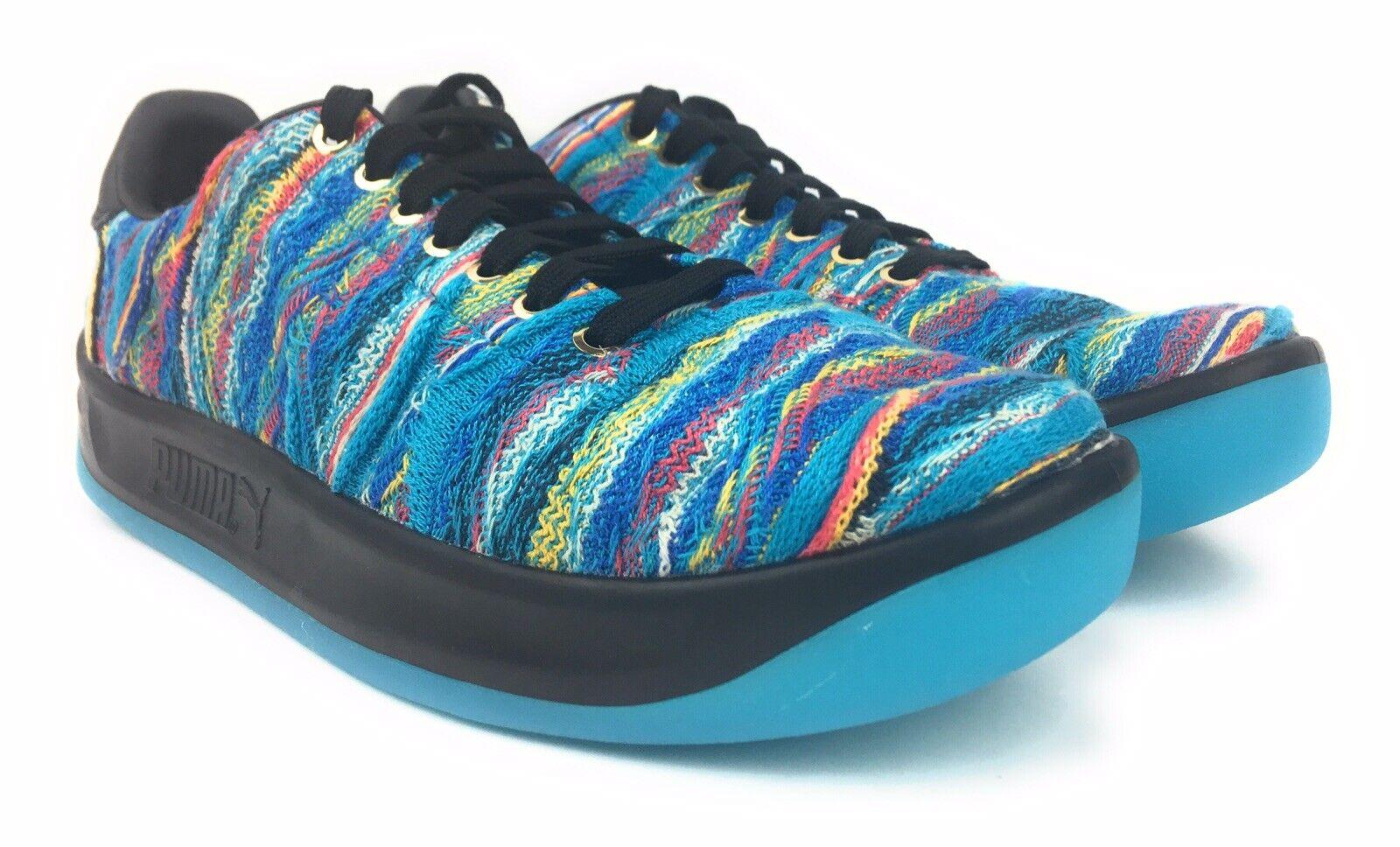 New Puma California Coogi Multi bluee Textile Sneakers shoes 36797301 Mens Sz 10