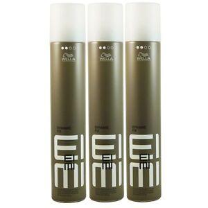 3 x 500 ml Wella Eimi Dynamic Fix 45 Sec.  Modelier Spray Set