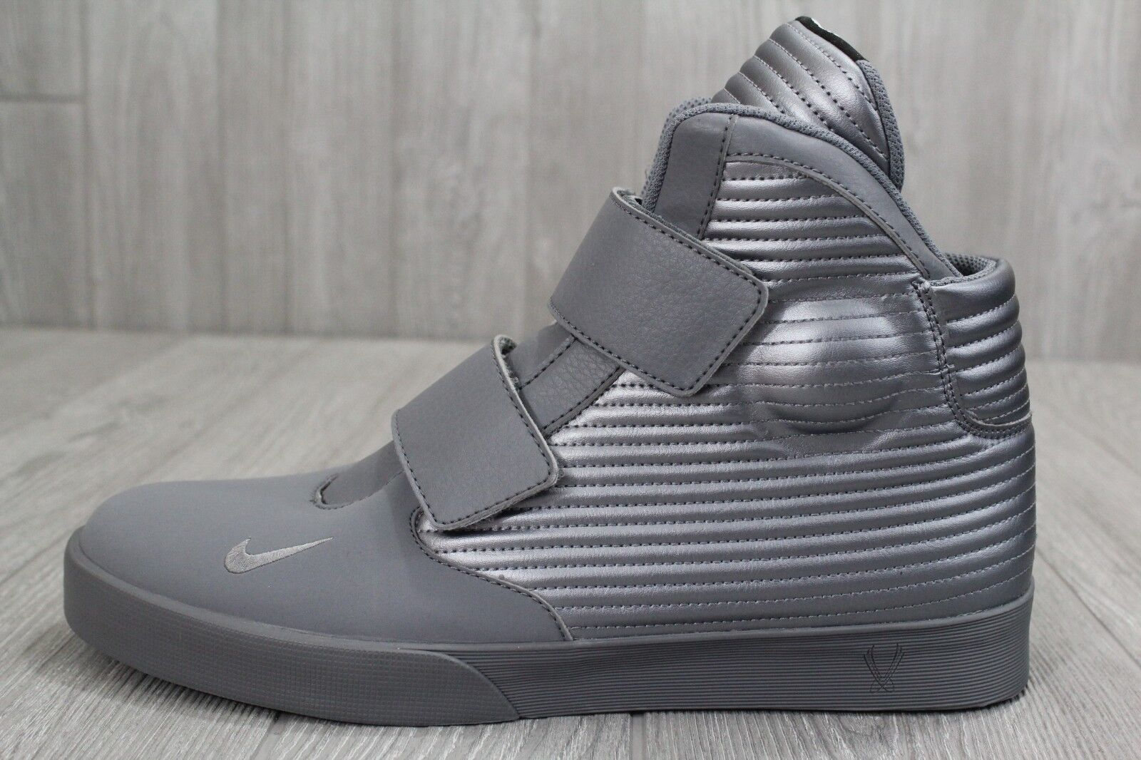 25 New Nike Flystepper 2K3 PRM Premium Grey shoes 644576 098 Men's Size 11.5