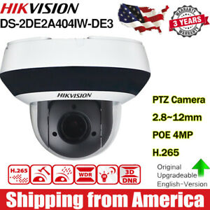 DS-2DE2A404IW-DE3-4MP-DarkFighter-4X-Optical-Zoom-H-265-WDR-MINI-PTZ-Camera