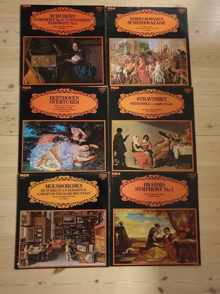 LP, Blandet Klassisk/RCA, Blandet Klassisk fra RCA